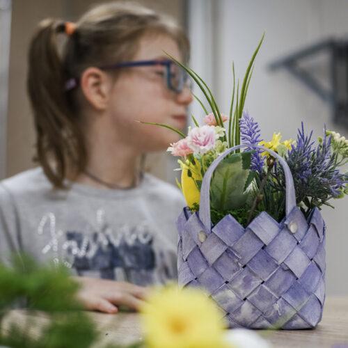 Весеннее настроение и флористический мастер-класс